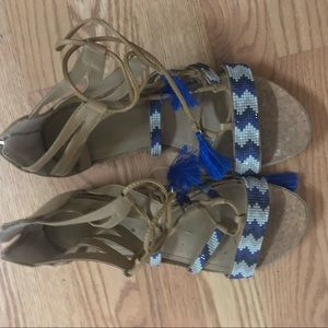 Reaction Kenneth Cole Boho Sandals